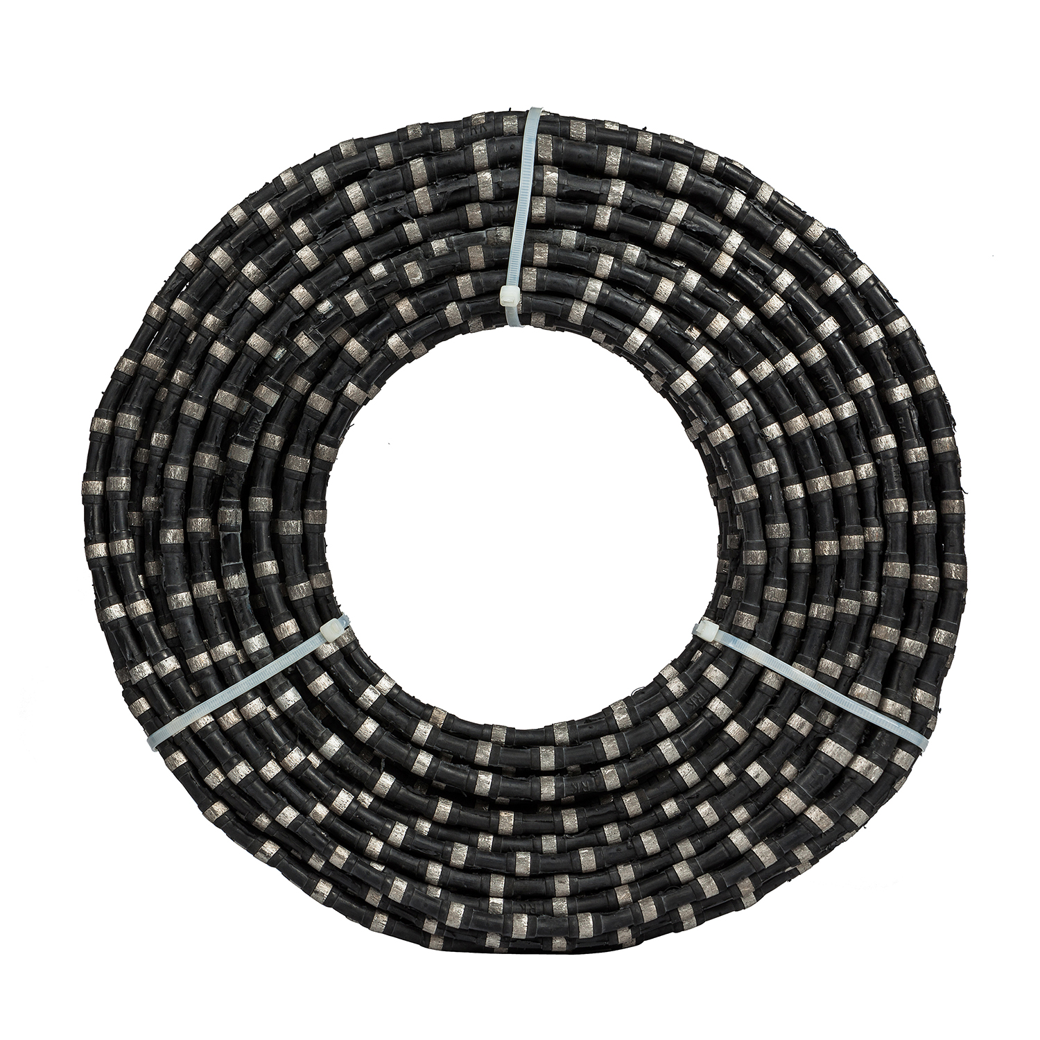 Diamond wire saw for concrete and stone sawing