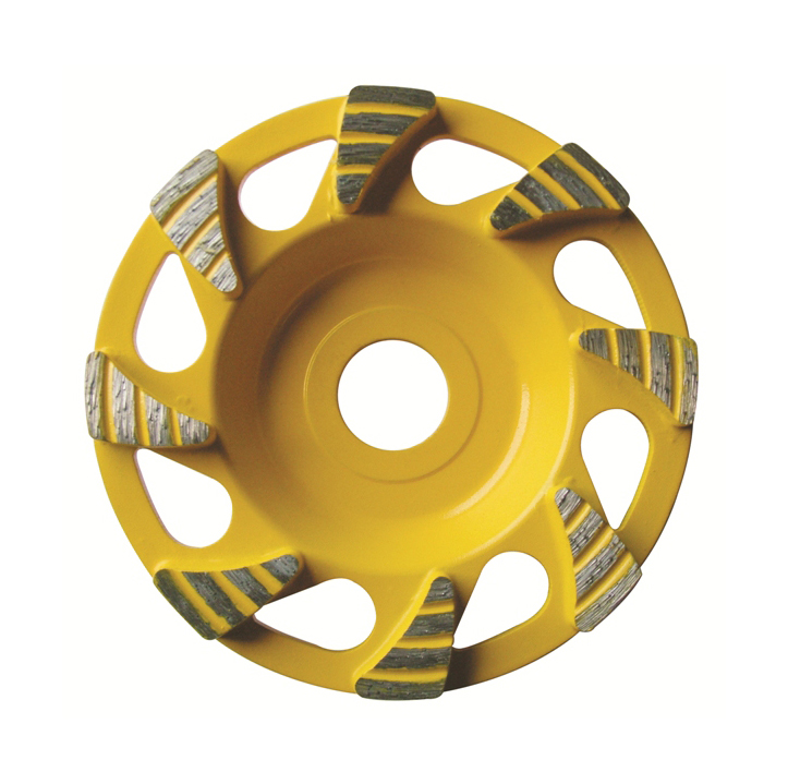 4-7 inch Special diamond floor grinding cup wheel WB3