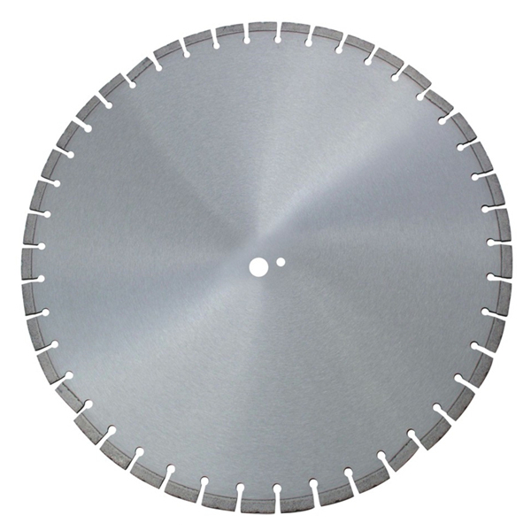 600-900mm Laser welded diamond saw blade for asphalt and fresh concrete