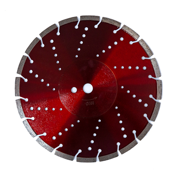 300-500mm Laser welded diamond saw blade for concete wet & dry cutting