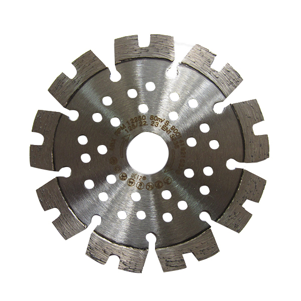 105-230mm Laser welded diamond saw blade for general construction materials