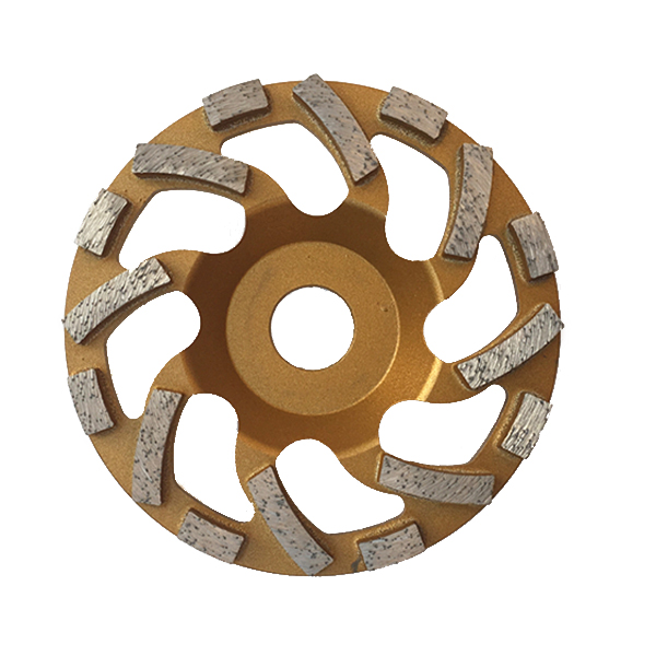 4-7 inch Special diamond floor grinding cup wheel WBG