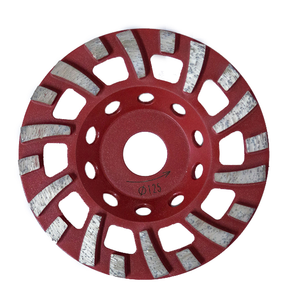 4-7 inch Special diamond floor grinding cup wheel WBD