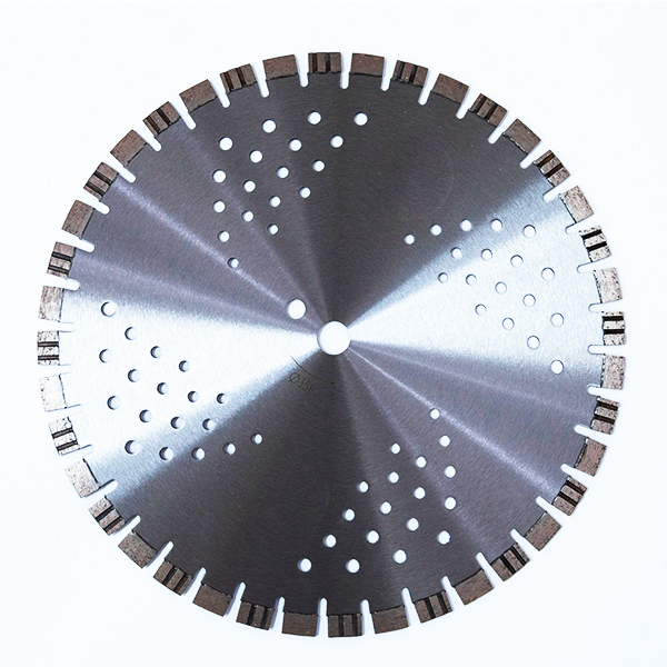 115-350mm Laser welded diamond saw blade for concete wet & dry cutting short segments